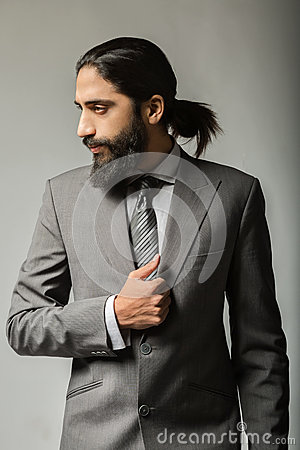 Free Handsome Young Businessman Posing Royalty Free Stock Photos - 55476258