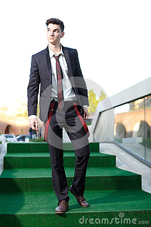 Free Handsome Young Fashion Male Model Stock Photography - 25709072