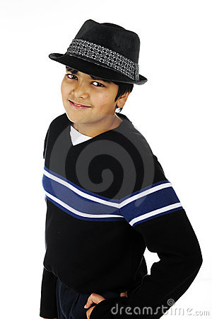 Handsome Young Tween