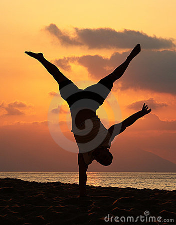 Free Handstand Stock Photos - 1619433