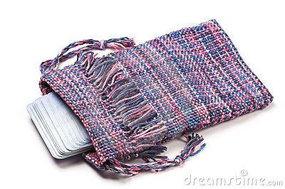 Handwoven Tarot bag