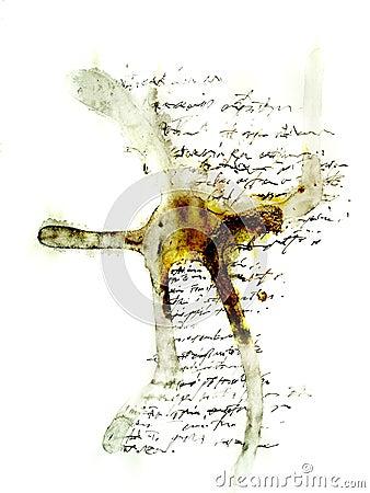 Handwriting words