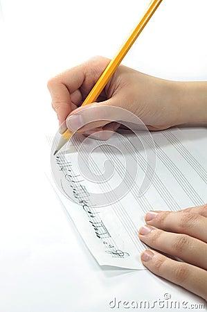 Free Handwritten Music Stock Images - 15335184