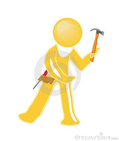 Handy man icon