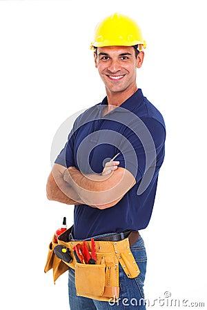 Free Handyman Crossed Arms Stock Photos - 30281863