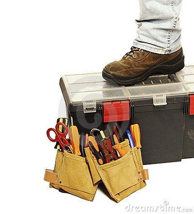 Free Handyman Tools Royalty Free Stock Photography - 11398937