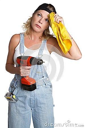 Free Handyman Woman Stock Photos - 13678413