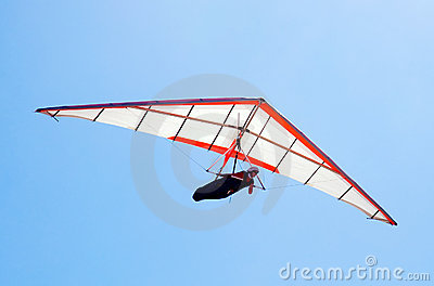 Hang glider Editorial Stock Image