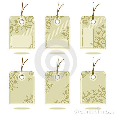 Free Hang Tags Design Elements Royalty Free Stock Photo - 4211965