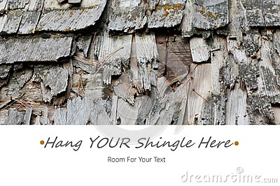 Hang Your Shingle Here