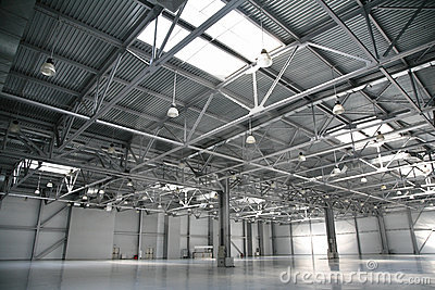 Hangar warehouse