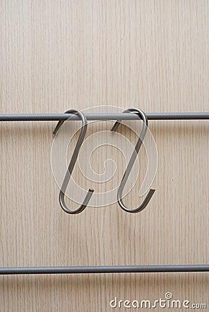 Hanger metal hooks for furnitures