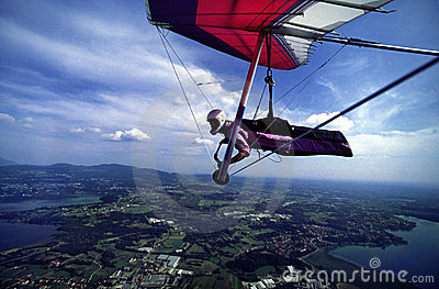 Hanggliding at North Italy 1
