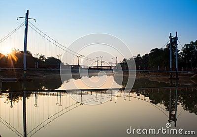 Hanging Bridge morning