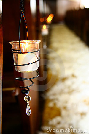 Free Hanging Candle Royalty Free Stock Images - 1140519