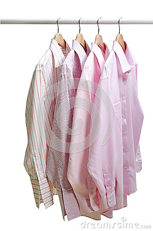 Hanging Clothes Stock Photo - Image: 26039860