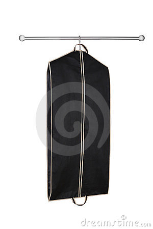 Hanging garment bag