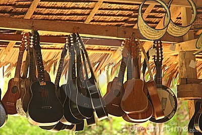 Hanging Guitars