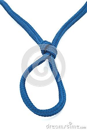 Hanging noose rope