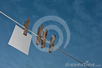 Hanging note