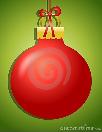 Hanging Ornament Background