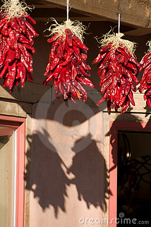 Free Hanging Ristras Royalty Free Stock Images - 6764719