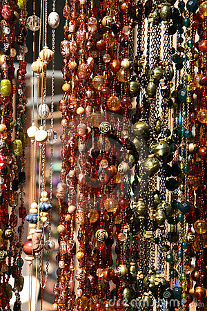 Hanging Textured Necklaces