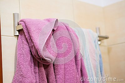 Hanging Towels Stock Photography Image 38456662