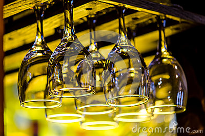 Hanging Wine Glasses