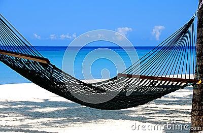 Hangmat door het overzees