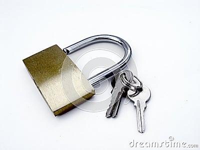 Hangslot en Sleutels