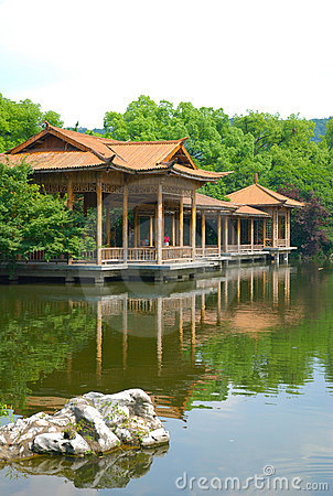 Hangzhou west lake scenery