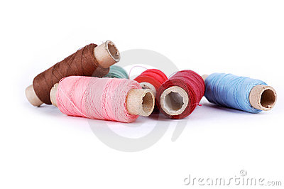 Hanks Of Threads Royalty Free Stock Image - Image: 18102746