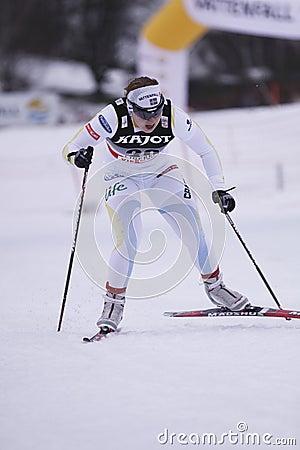Hanna Brodin - swedish cross country skier Editorial Image