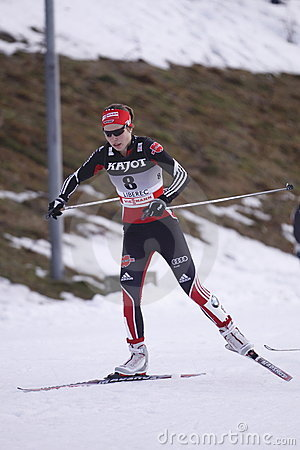 Hanna Kolb - german cross country skier Editorial Stock Photo