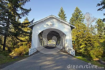 Hannah Covered Bridge Oregon