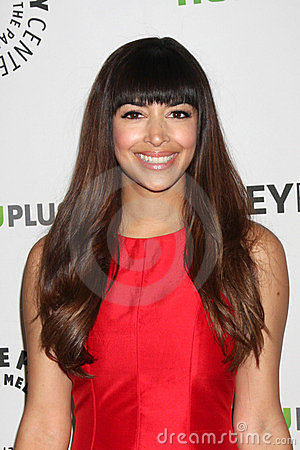 Hannah Simone Editorial Stock Photo