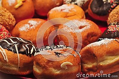 Hanukka Doughnuts