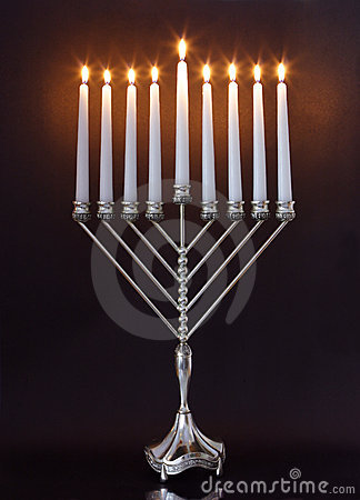Free Hanukkah Menorah / Hanukkah Candles Royalty Free Stock Image - 7500476