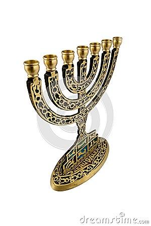 Hanukkah Menorah - isolated