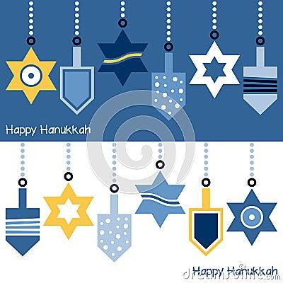 Hanukkah Ornaments Banner