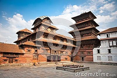 Hanuman Dhoka, old Royal Palace, Durbar Square in Kathmandu,  Ne