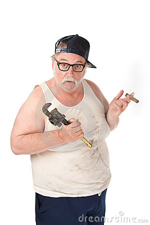 Hapless plumber