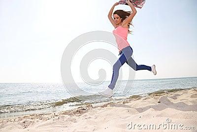 Woman happy smiling joyful Beautiful young cheerful Caucasian female