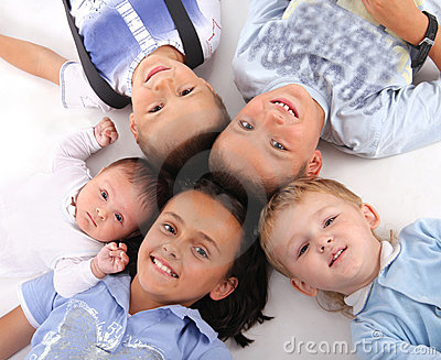 Happiness children