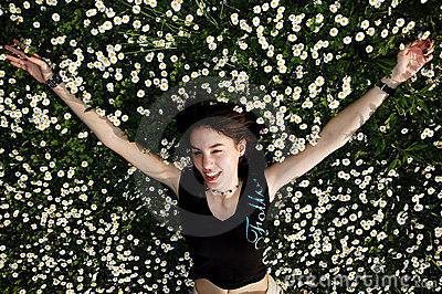 Happiness in the flowers 3