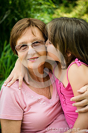 Happiness - together with grandchild