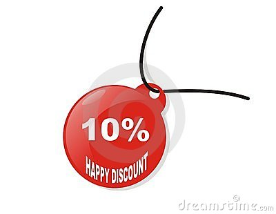 Happy 10  discount