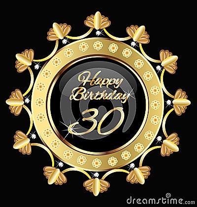 Happy 30 birthday