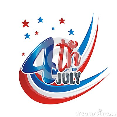 Free Happy 4th Of July, USA Independence Day Vector Design Royalty Free Stock Photo - 117321435